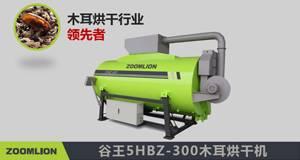 谷王5HBZ-300木耳烘干机