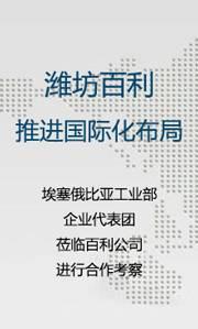 潍坊百利推进国际化布局