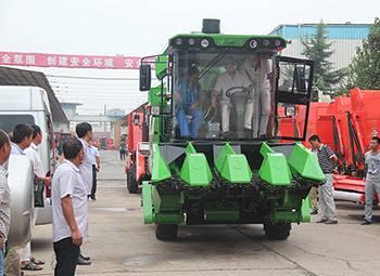 新型职业农民技能培训在常林农装举行