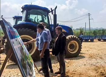 凯斯纽荷兰推进广西甘蔗全程机械化建设