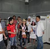 越南客户代表团参访鑫源农机
