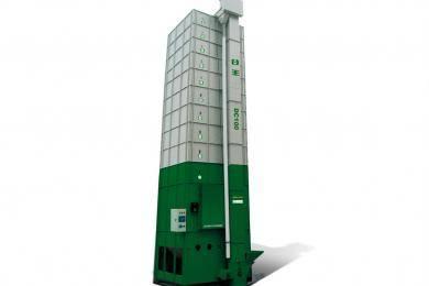 """""""谷王""""DC100型循环式谷物烘干机,热风炉烘干系统可采用低成本的稻壳、秸秆、煤等为燃料,能大大降低烘干成本。采用意大利进口高压喷雾式燃烧器,可用轻柴油、煤油为燃料,雾滴细密均匀,燃烧完全,不污染谷物。燃烧器在控制系统自动操控下工作,按干燥程序要求对谷物进行间接加热。"""