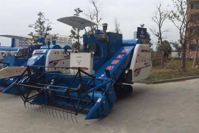 浙江柳林4LZ-4.0A全喂入水稻联合收割机