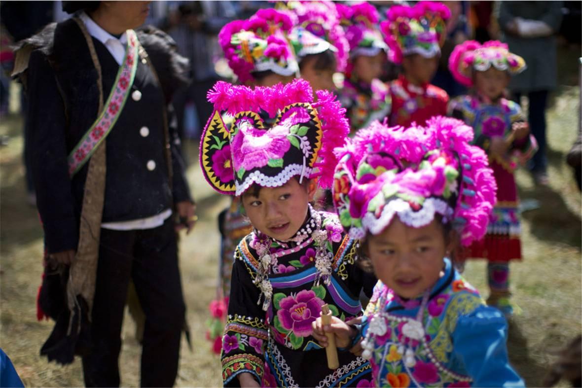 云南 彝族 赛装节