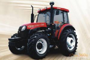 东方红LF904-C型动力换挡拖拉机,采用技术先进的12F+12R动力换向变速箱,农田作业过程中,轻拨换向开关,拖拉机进退自如。提高作业效率15%以上。田间快速掉头,180度换向无需频繁停车、起步,节省作业时间,有效降低燃油消耗15%。