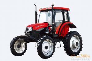东方红LX800H轮式拖拉机,是一拖公司在吸收国外先进技术的基础上,根据市场需求开发的高地隙拖拉机,该产品地隙高达840mm,可用于棉花、玉米等的中耕作业和喷药等田间管理。