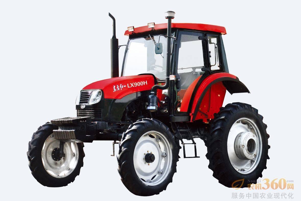东方红LX900H轮式拖拉机,是一拖公司在吸收国外先进技术的基础上,根据市场需求开发的高地隙拖拉机,该产品地隙高达840mm,可用于棉花、玉米等的中耕作业和喷药等田间管理。