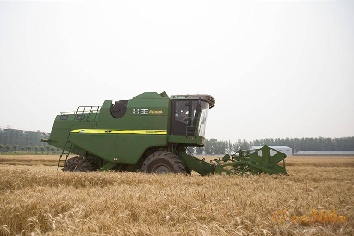 小麦联合收割机改制收获玉米的试验研究