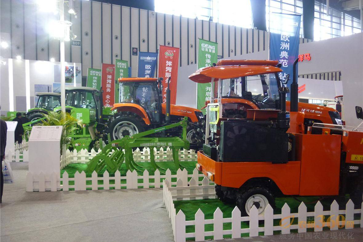 第八届中国(江苏)国际农业机械展览会现场.