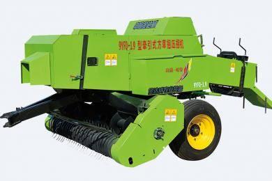 【新品解析】金达威9YFQ-1.9型牵引式方草捆压捆机