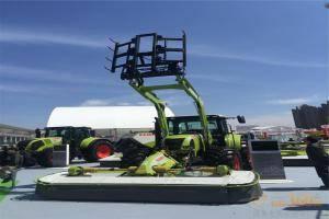ARION 640C拖拉机和DISCO组合式割草压扁机