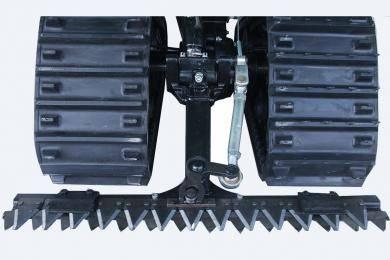 离合分离式割刀:割刀在陆地行走时不再运行,降低割刀使用频率,减少磨损、增加寿命,让使用过程更加安全。