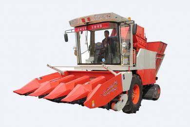 国丰4YZP-4D型自走式玉米收获机