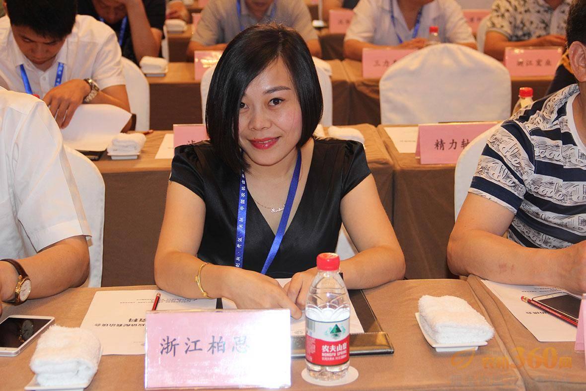 浙江柏思达齿轮有限公司常务副总经理吴焦君。