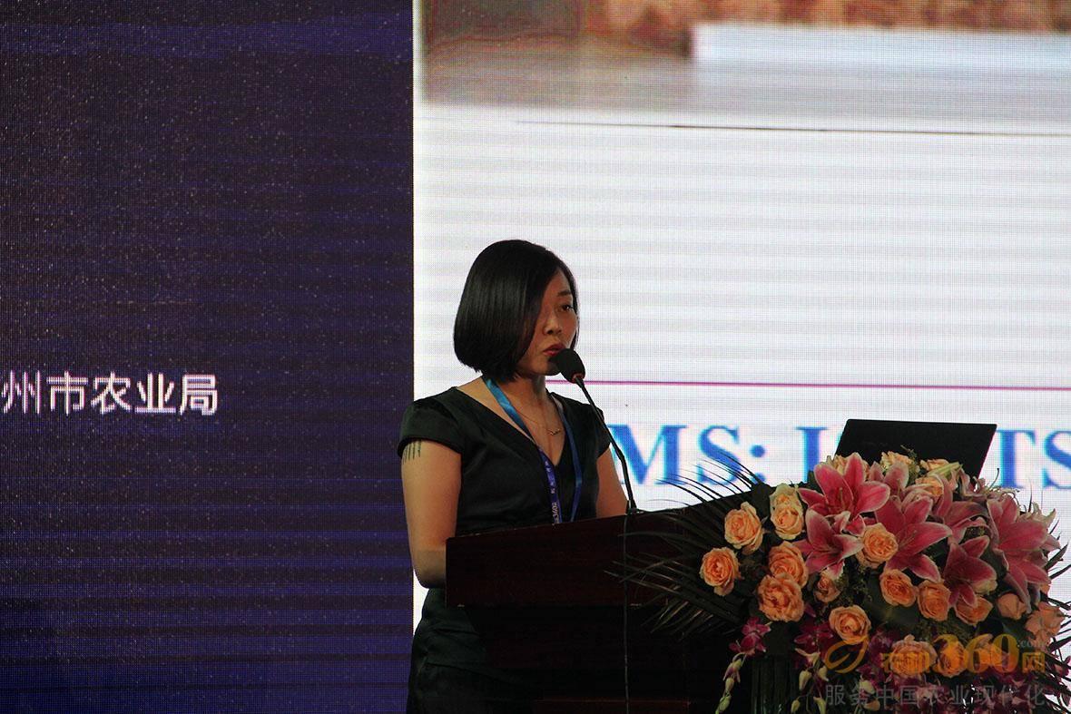 浙江柏思达齿轮有限公司常务副总经理吴焦君做主题分享。