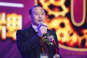 获奖代表河北双天董事长白占欣发表获奖感言