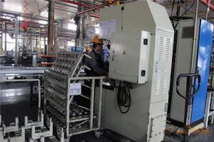 合作社理事长们参观谷合传动产品生产线。