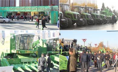 """中联重科""""秋收利器""""助力东北农业生产全程机械化"""