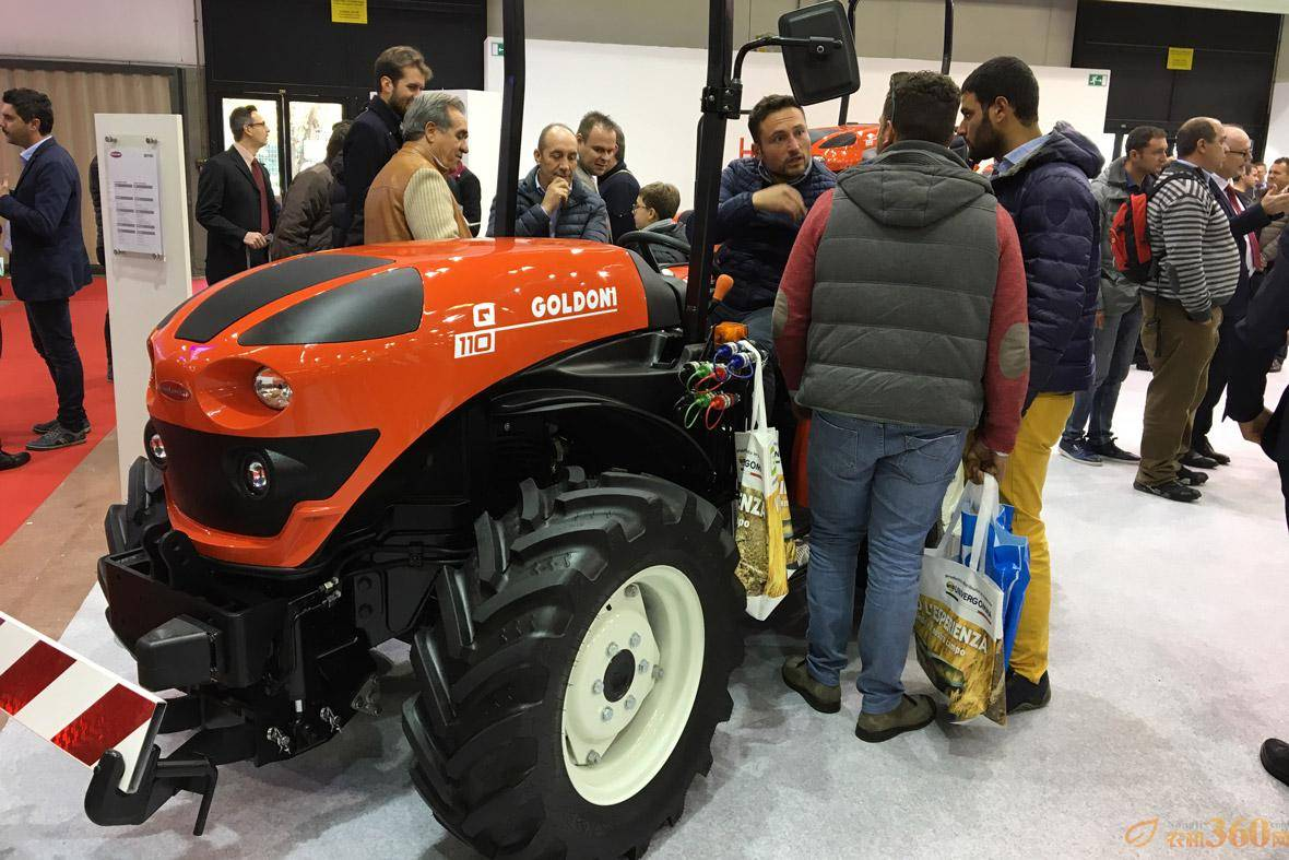 高登尼拖拉机在博洛尼亚EIMA国际农机展上备受关注