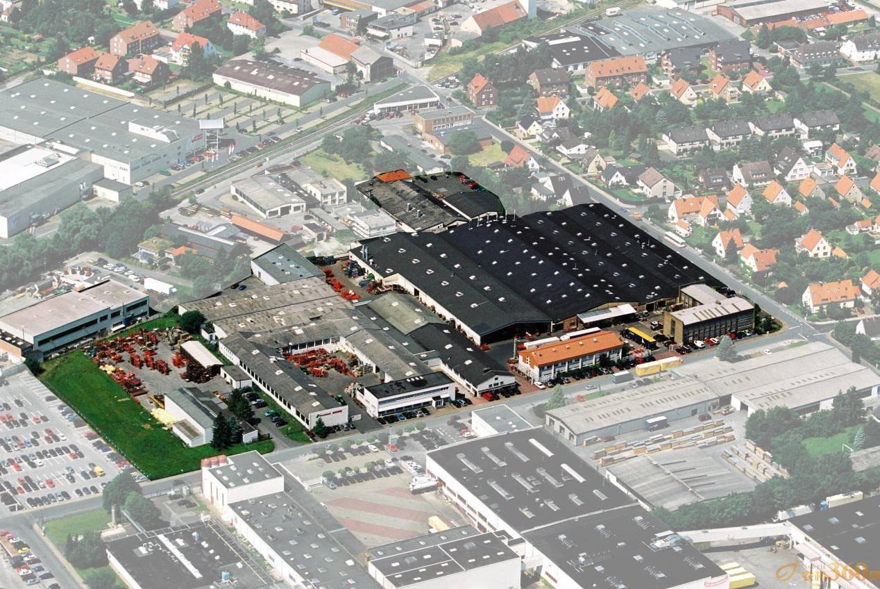 空中俯瞰格兰集团德国塞斯特工厂