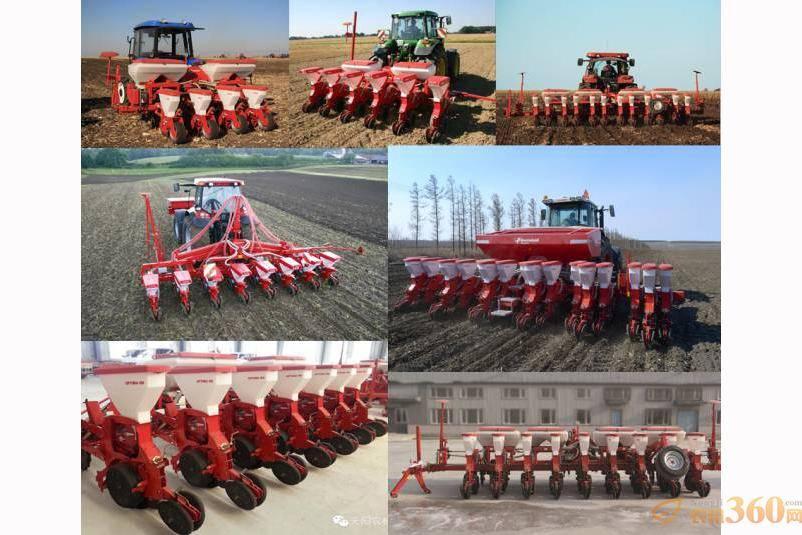 格兰在中国市场多种行数的精量播种机