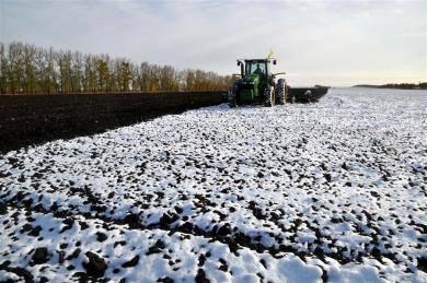 雪后农作忙