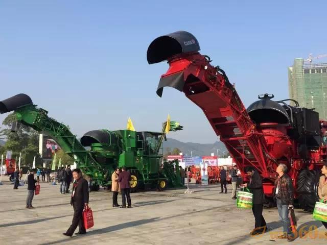 2016中国甘蔗机械化博览会参展机型