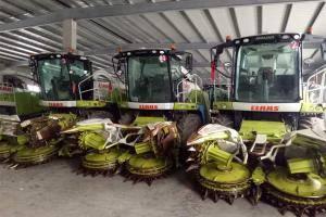 科乐收青贮机及ORBIS割台助力天津苜蓿示范项目