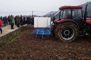 德国LEMKEN参加重庆市农业机械化现场演示会