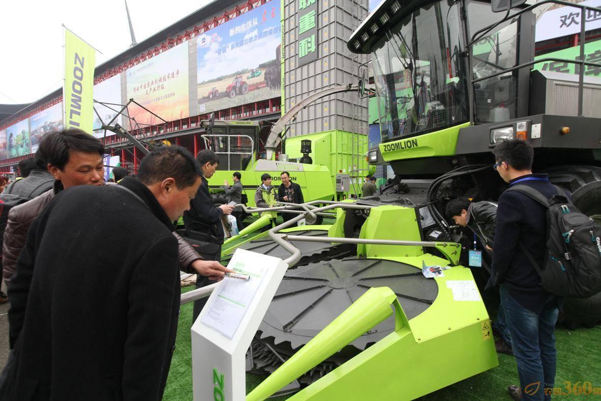 中联重科青贮机助力农业供给侧结构性改革