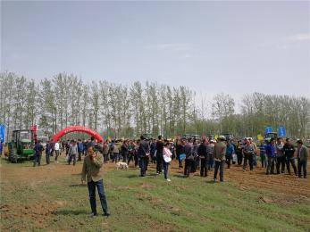 潍坊市第十一届农机科技下乡活动