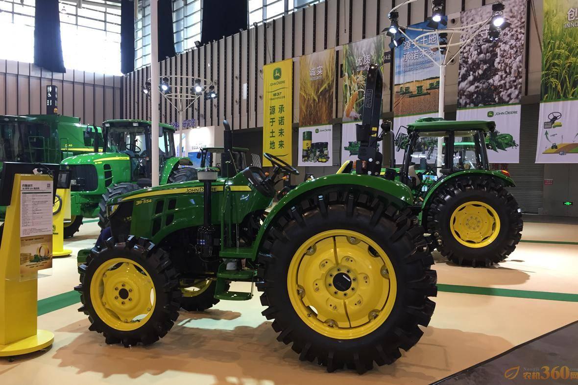 约翰迪尔精彩亮相江苏国际农业机械展览会