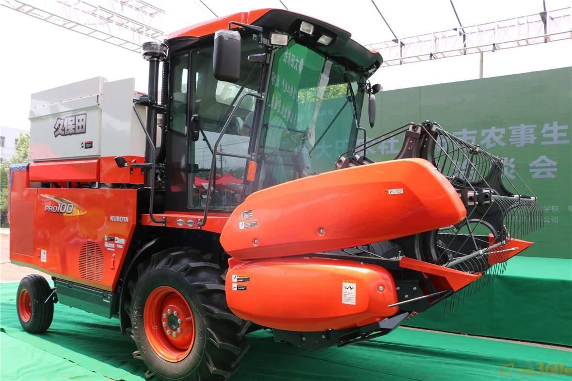 久保田4LZ-5(PRO100)小麦联合收割机