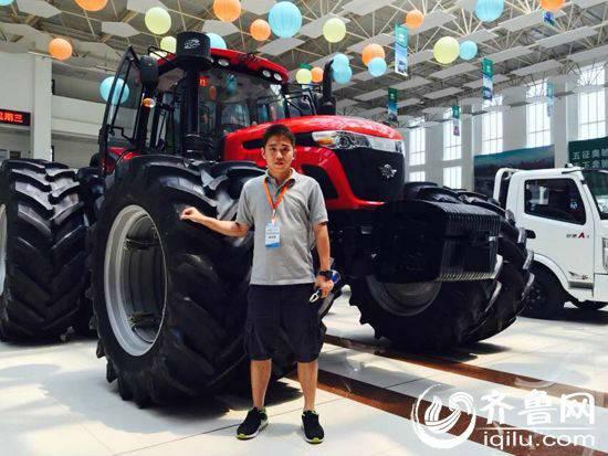 五征大马力拖拉机_五征山拖泰山1204拖拉机在内蒙古热销农机