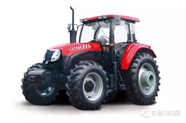 双十二优惠购产品:东方红lx1304轮式拖拉机