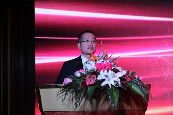 张和平董事长为活动致欢迎词