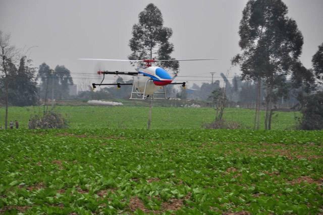 天鹰兄弟植保无人机泸州行 高科技喷药效率高1.jpg