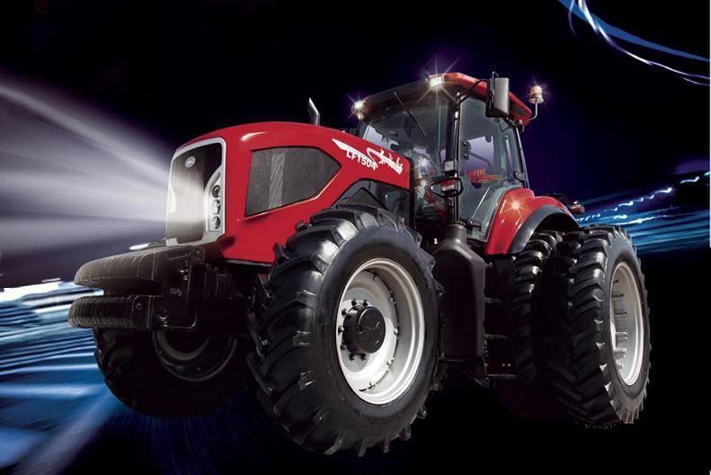 中国一拖动力换挡产品在南非农机展上成功首售