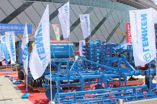 德国LEMKEN参加2016蒙东农机博览会