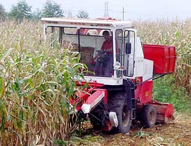 教你动手修理玉米联合收割机