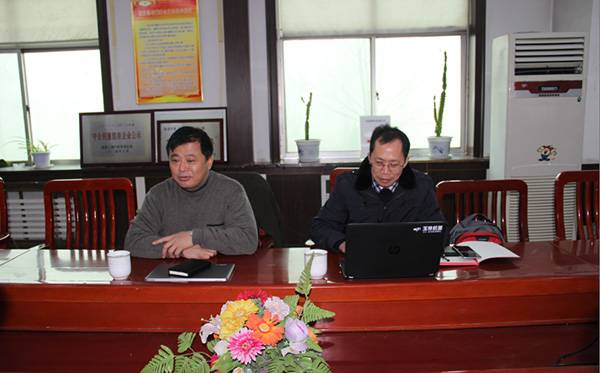 广西玉柴机器股份有限公司副总裁叶斌一行莅临润源指导工作