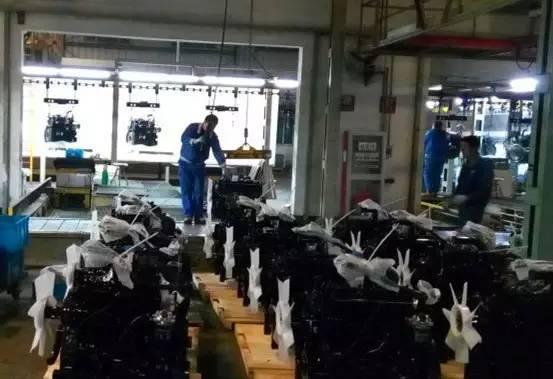 常柴多缸机厂旺季生产进行时