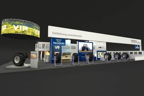 特瑞堡新产品在法国国际农机展SIMA2017展出