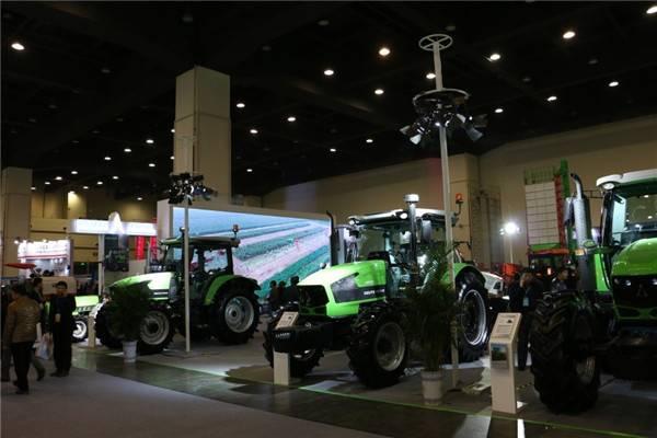 道依茨法尔闪耀亮相2017全国农业机械展览会
