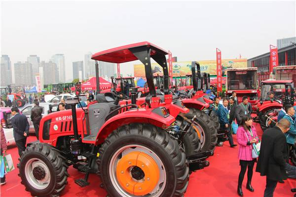 时风集团豪华阵容精彩亮相郑州2017全国农业机械及零部件展