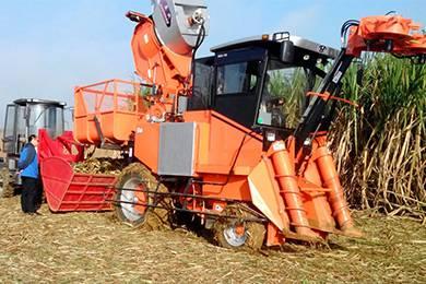这么牛掰的国产甘蔗收割机,你一定没见过!