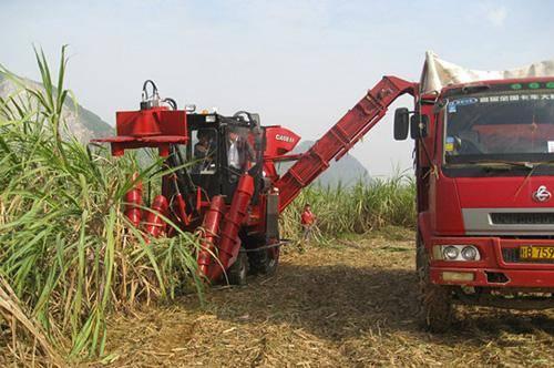 柳工新款甘蔗收获机助推我国甘蔗机械化进程