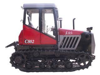 东方红C802履带式拖拉机