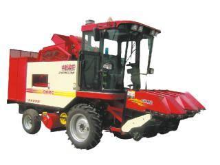 中联收获4YZ-3B自走式玉米联合收获机