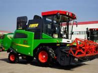 中国收获4YZ-4G自走式玉米收获机